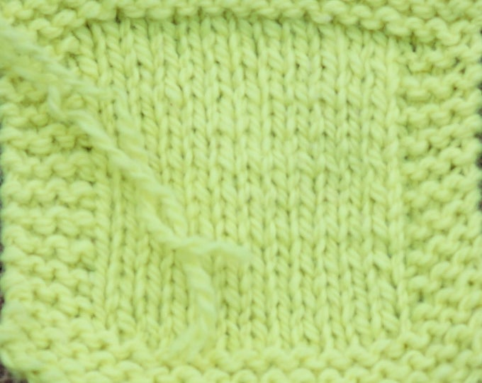 NEON YELLOW 2 ply kettle dyed wool yarn from our farm