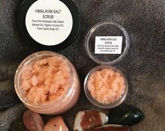 Himalayan Salt Scrub