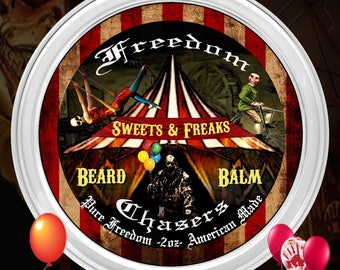 Freedom Chasers Organic and Natural Beard Balm Sweets & Freaks Scent