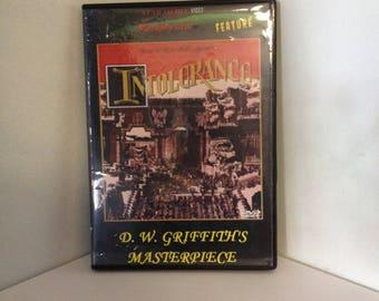 INTOLERANCE (1916) Silent Drama DVD