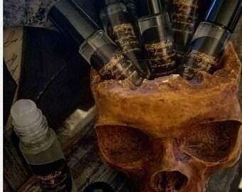 Feretrophobia-The fear of coffins,10ML Clear Roll-on Bottle w/ Roller Ball