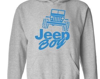 Jeep Boy Humor Trucks Gift for Christmas Birthday Match with Jeans Leggings Hats Unisex Hoodie Sweatshirt
