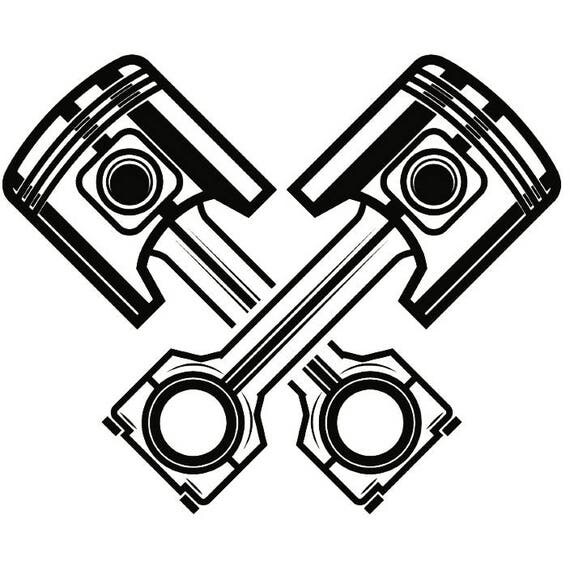Crossed Piston Logo | www.pixshark.com - Images Galleries ...