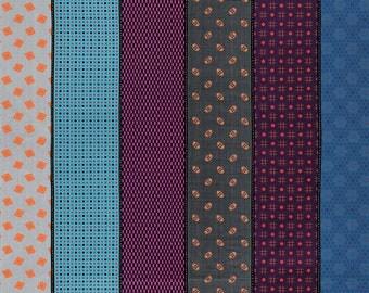 1 yard - Moda-  Lollies Sweetie - Cool - 18130 16 - cotton fabric - Jen Kingwell