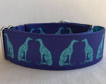 Greyhound Collection Martingale Dog Collar