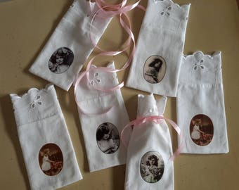 6 bags to fill (gift or lavender) with transfer