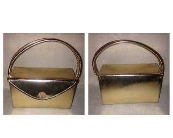 On Sale Lovely Gold Vintage Ladies Purse
