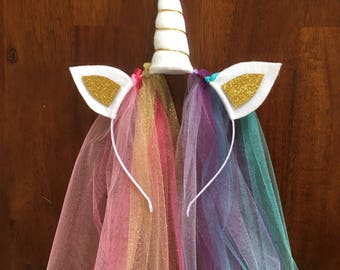 Princess Unicorn Headband