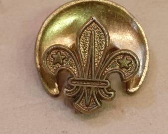 Vintage Scout Association Metal Badge