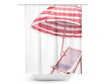 Beach Days Shower Curtain