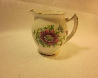 Thomas Forester & Sons Ltd. Phoenix bone china creamer, vintage creamer made in England