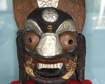 Tribal mask Wall art