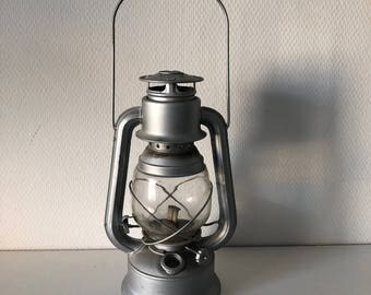 Hurricane lamp vintage shabby chic