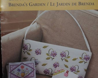 """the Brenda Garden"" cross stitch pattern"