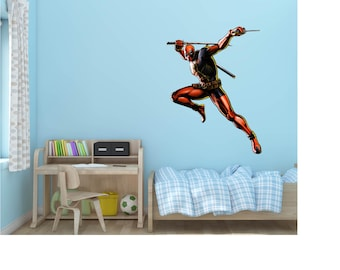 Deadpool Marvel Comics Vinyl Wall Decal