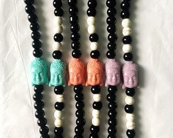 Siddhartha Beaded Bracelet • Buddha Beaded Bracelet • Beaded Bracelet