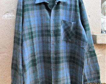 Vintage Wool Shirt, 1980's wool jackets, shirt/jackets, unisex shirts, warm clothing, winter clothes, lightweight wool items