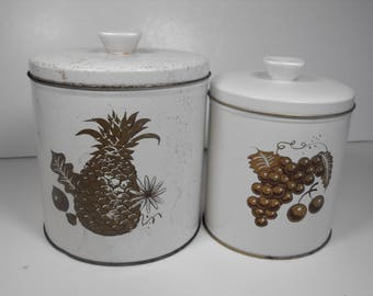 Two White Canisters Tuttle (1433)