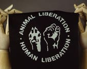 Animal Patch | Punk patch | Screen print | Patches for Jackets | Metal patch | Equality Patch | Liberation Patch | Adopt Patch | Vegan Patch