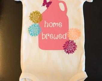 Home Brewed baby onesie