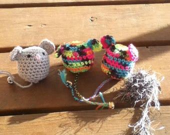 Little mouse cat toys