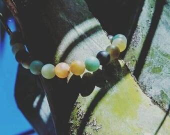 The Amazon (amazonite stone bracelet)