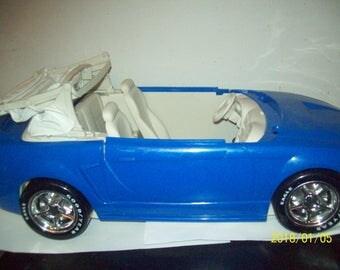 Vintage  Barbie Blue Mustang Convertible