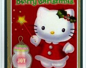 Hello Kitty Christmas Card