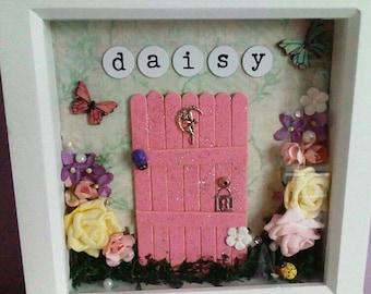 Personalised Fairy Door Box Frame
