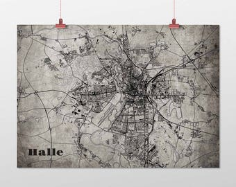 Hall - A4 / A3 - print - OldSchool