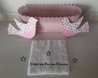Bustier top crochet tutu 12/24 months