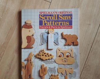 Spielman's Original Scroll Saw Patterns by Patrick & Patricia Spielman, Scroll Saw Patterns Book, Make Wooden Toys Book