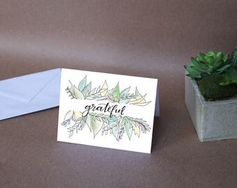 Grateful Thank You Note