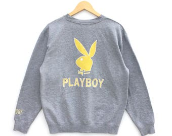 Vintage Playboy Big Logo Sweatshirt / Playboy Big Logo / Shirt Jacket / Sweatshirt
