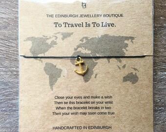 Travel Wish Bracelet