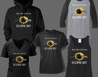 Dark Side of the Sun Eclipse 2017 Shirts, hoodies, Jersey's , tank tops
