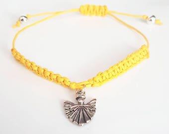 Gaurdian angel braid bracelet