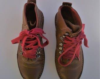 Vintage Sauslito Hiking Boots - Size 6 1/2