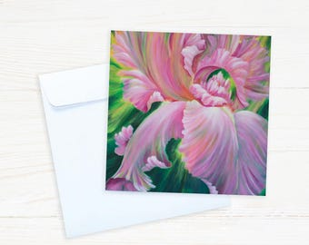 Floral Collection - #F10 - Pink Iris