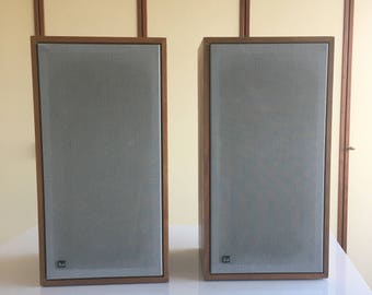 Dual CL 172 speakers system vintage Germany rare