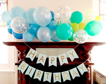Balloon Garland Kit, 8 or 16 feet, Wedding, Birthday, Engagement, Baby shower, Graduation Party Decoration, Easy to Build - AU free shipping