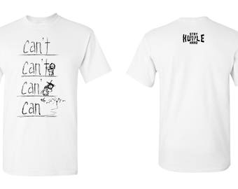 Can't Can with Jesus T-shirts