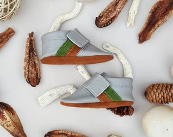 Gray Sneaker Moccasins