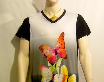 One of a kind mens fashionable knit top