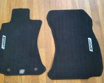 2013 Subaru Impreza Sport Floor Mats Cloth Hatchback Car Vehicle Limited Drive Carpet Driver Speed