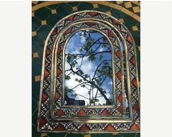 February Sale Handmade arch mirror set