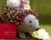 Crochet amigurumi hedgehog toy animal cute gift