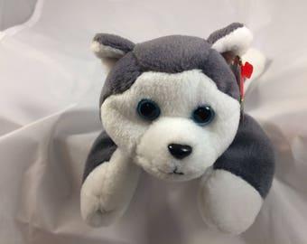 Ty Beanie Baby Nanook the Sled Dog  Original MWT Style 4104 November 21, 1996 Gift Quality
