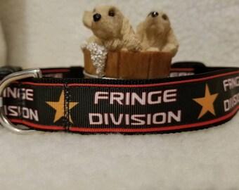 TV Show Handmade Dog Collar 1 Inch Wide Large and Medium