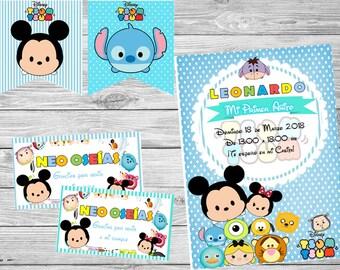 Printable Tsum Tsum Disney